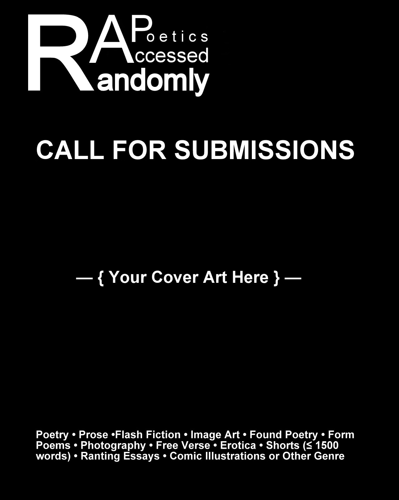 personal essay call for submissions