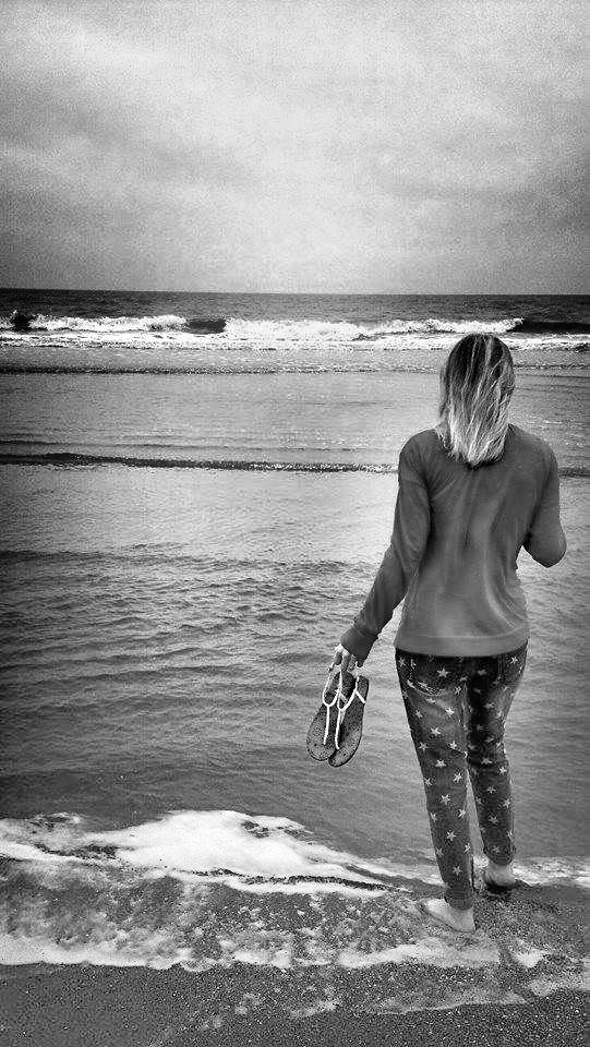 Toes Into The Sea by Staci Leigh