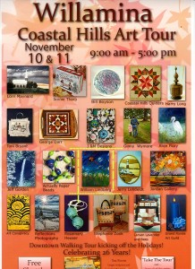 William Lindberg Will Be Selling Books and Art at the Willamina Coastal Hills Art Fair